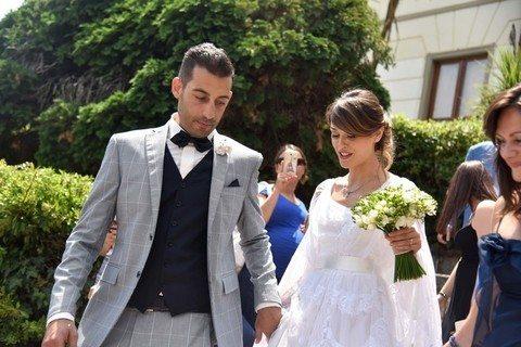 Per redazione Avellino. Mercogliano (AV) 01-07-2016 matrimonio di Fatima Trotta