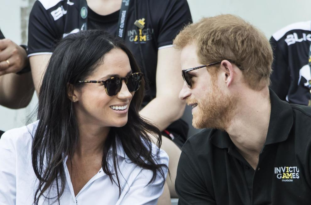 File photo dated 25/09/17 of Prince Harry and Meghan Markle attending the Invictus Games in Toronto, Canada.  PRESS ASSOCIATION Photo. Issue date: Monday October 2, 2017. The public show of affection between Prince Harry and girlfriend Meghan Markle has prompted bookmakers to slash the odds on the couple getting engaged this year. See PA story ROYAL Harry. Photo credit should read: Danny Lawson/PA Wire